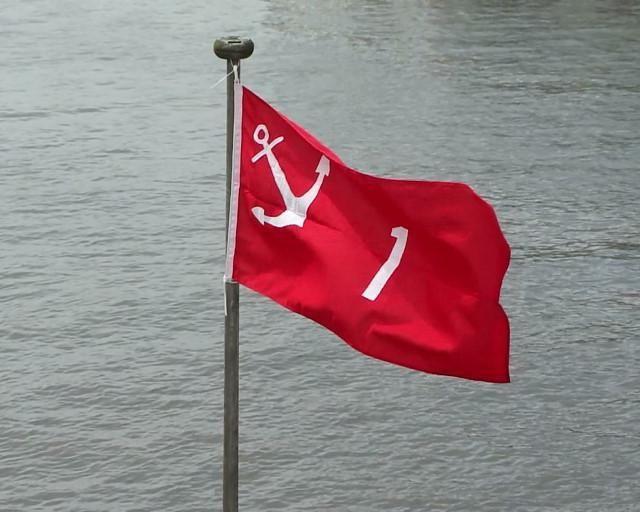 Een oude traditie is in ere hersteld 'De Ledenvlag'