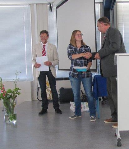 Uitreiking prijzen op Maritiem Instituut Willem Barentsz op Terschelling en De Ruyter Academie te Vlissingen