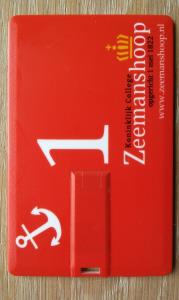 USB visitekaartje College Zeemanshoop